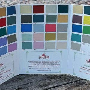 Colourman chalk based paint colourcard